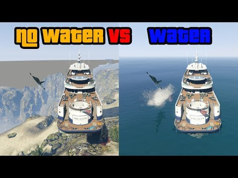 Without Water Vs With Water (GTA V)
