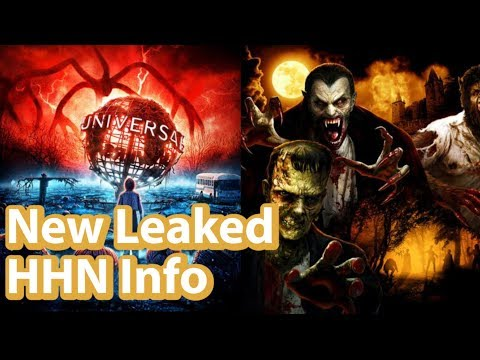 Universal Studios Leaked Info | Unannounced Scare Zone Information