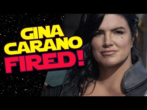 GINA CARANO FIRED from The Mandalorian! #CancelDisneyPlus Trends in Protest!