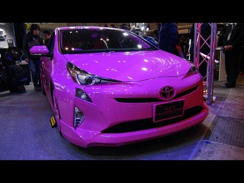 Hd Awesome Japan Pink Toyota New Prius 2016 新型プリウス・ピンク