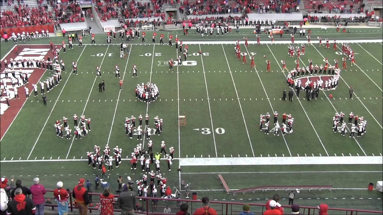 Badger Band 5th Quarter As Seen From The Press Box 10602912 Youtube