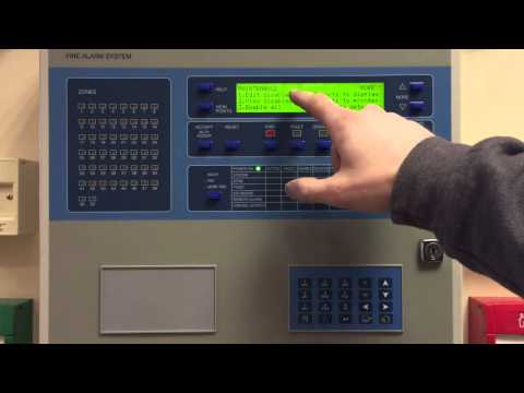 Ziton ZP3 Fire Alarm Control Panel. How To Perform A Detector Point Disable.