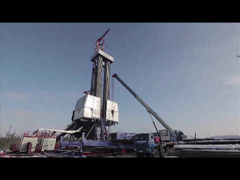 PNG Drilling Company operations in Siberia, Video