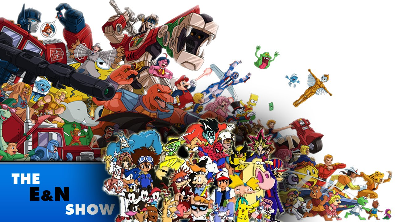 Cartoons From The 70s 80s And 90s
