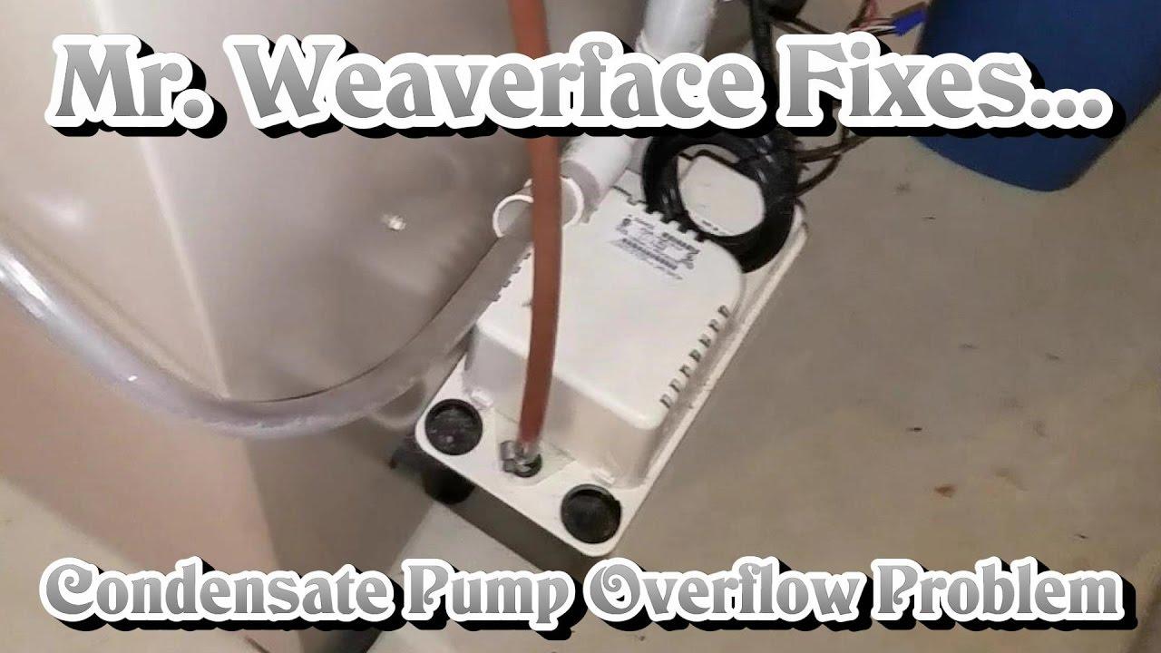 The Diy How To Fix Condensate Pump Drain Line Problem