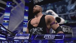 WWE 2K14 UNFITTING ENTRANCES - RYBACK