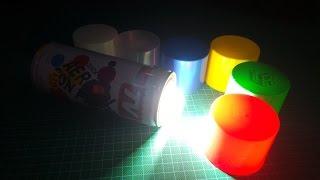 Chế Đèn PIN siêu tiện lợi, đủ màu từ lọ Sơn Phun