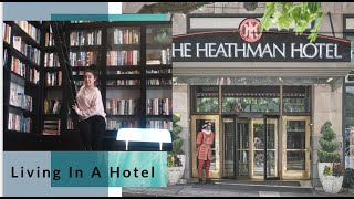 BEST HOTEL IN PORTLAND OREGO| SHOPPING WITH ME + STORY TIME | THE HEATHMAN HOTEL