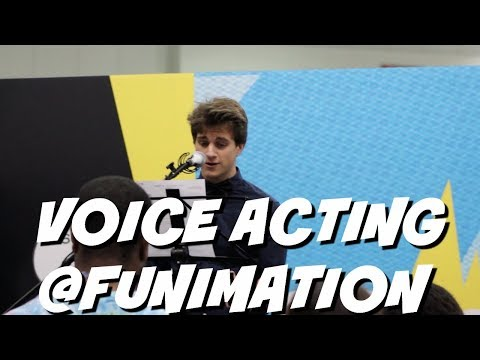 IM VOICE ACTING FOR FUNIMATION!!!!!!!!