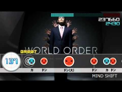 【太鼓さん次郎】MIND SHIFT【WORLD ORDER】