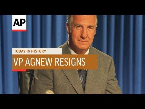 D. K. Smith - October 10, 1973 Vice President Agnew resigns