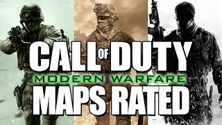 Rating EVERY Call of Duty Modern Warfare Trilogy Multiplayer Map