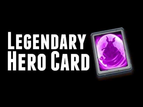 Castle Clash: Legendary Hero Card Revealed