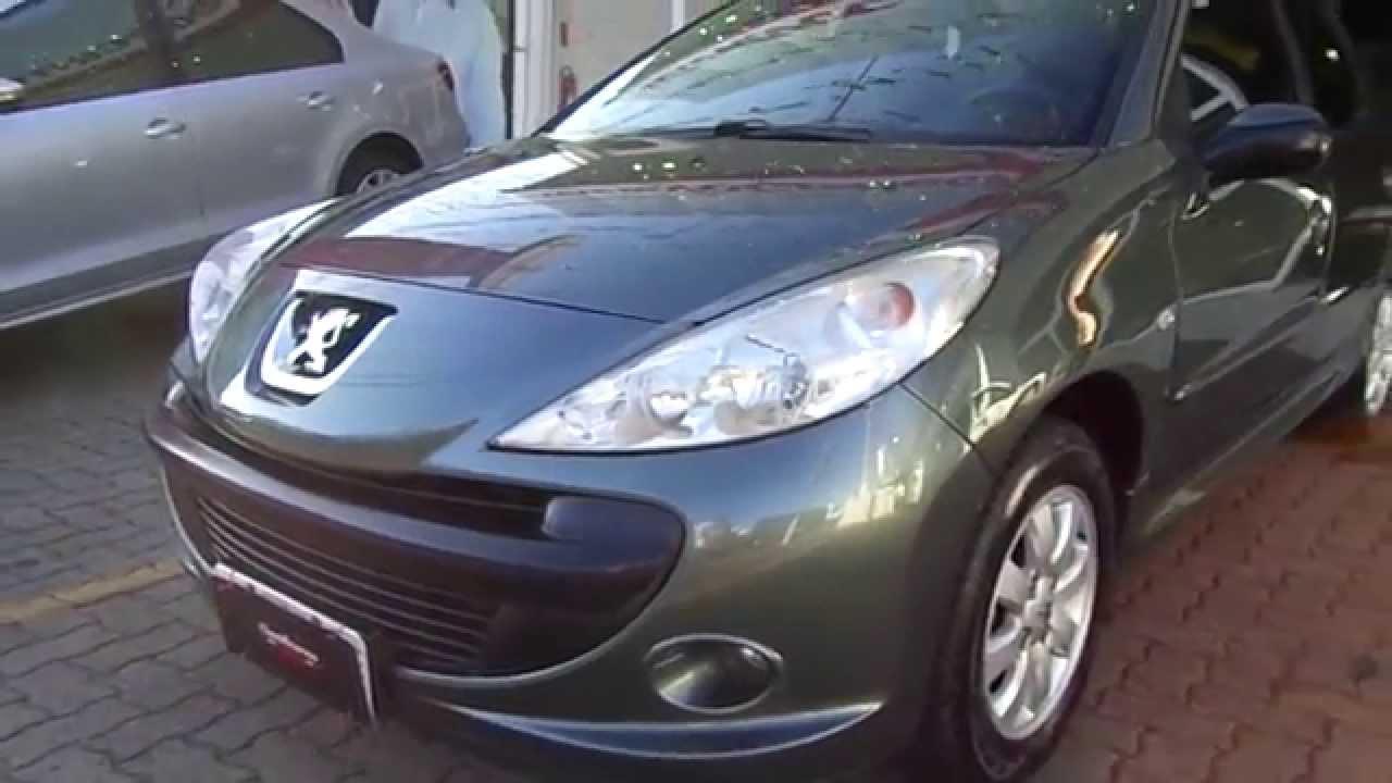 Peugeot 207 Passion XR Sport 14 8v (Flex) 2010  YouTube