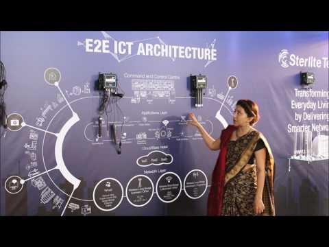 Sterlite Technologies Exhibits at India m2m iot Forum 2017
