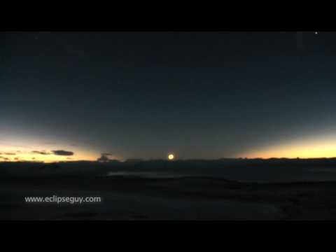 Total Solar Eclipse in Patagonia 11 July 2010