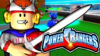 ROBLOX - POWER RANGER DUDU BETERO ( Super Hero tycoon )