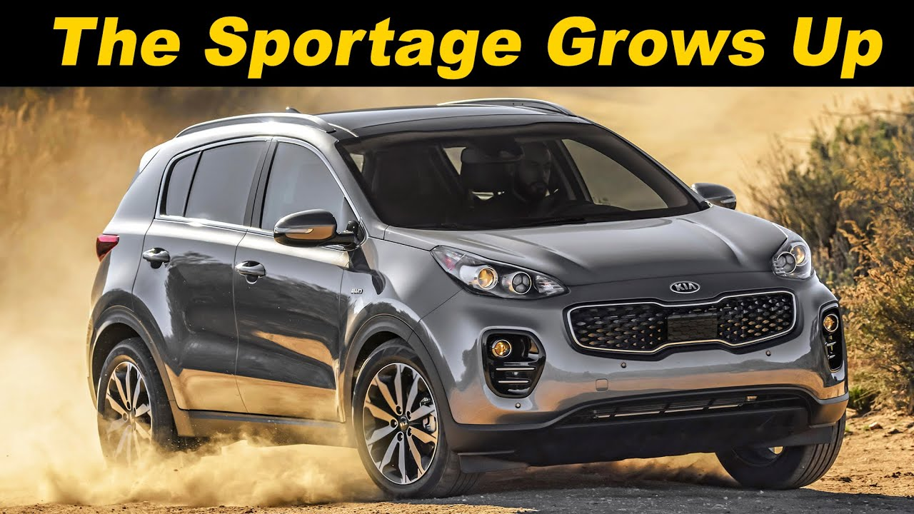 2017 kia sportage review and road test in 4k uhd youtube. Black Bedroom Furniture Sets. Home Design Ideas