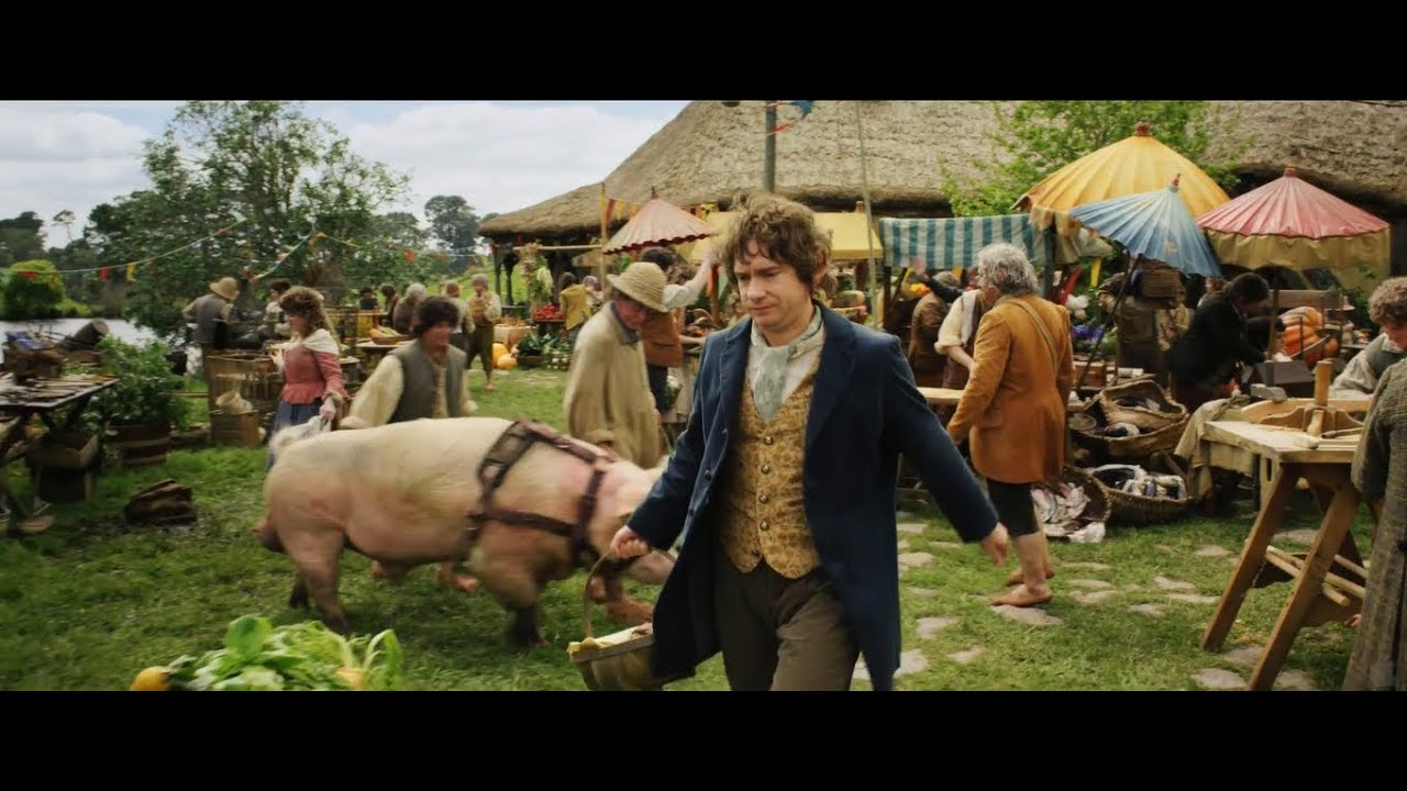 The Hobbit - Bilbo in Shire (Extended Edition) - YouTube