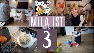 MILA'S 3. GEBURTSTAG! ❘ Geburtstagstorte & Geschenke ❘ 26. Ssw ❘ MsLavender