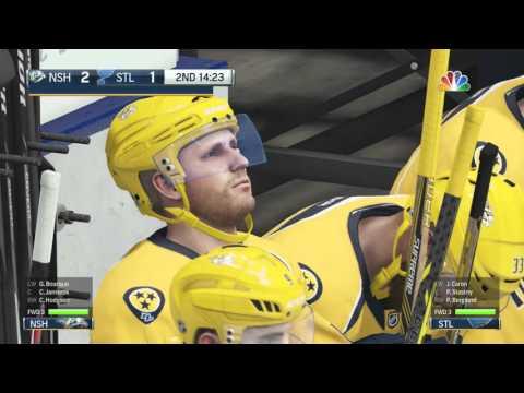 NHL 16 Nashville Predators vs  St  Louis Blues Power Play Outage