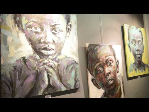 African art exhibition in France