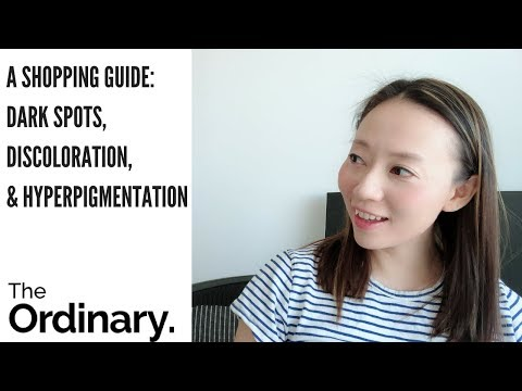 The Ordinary Shopping Guide: Discoloration And Hyper-pigmentation Product Recommendations