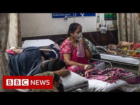 India passes 20 million Covid cases amid oxygen shortage - BBC News