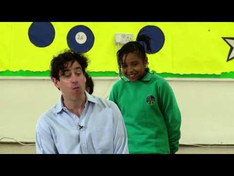 Stephen Mangan meets Sullivan Primary School