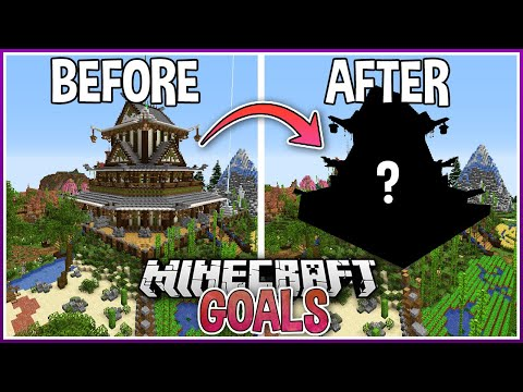 Upgrading My First Minecraft Mega Base with Creative Mode! - SmallishBeans