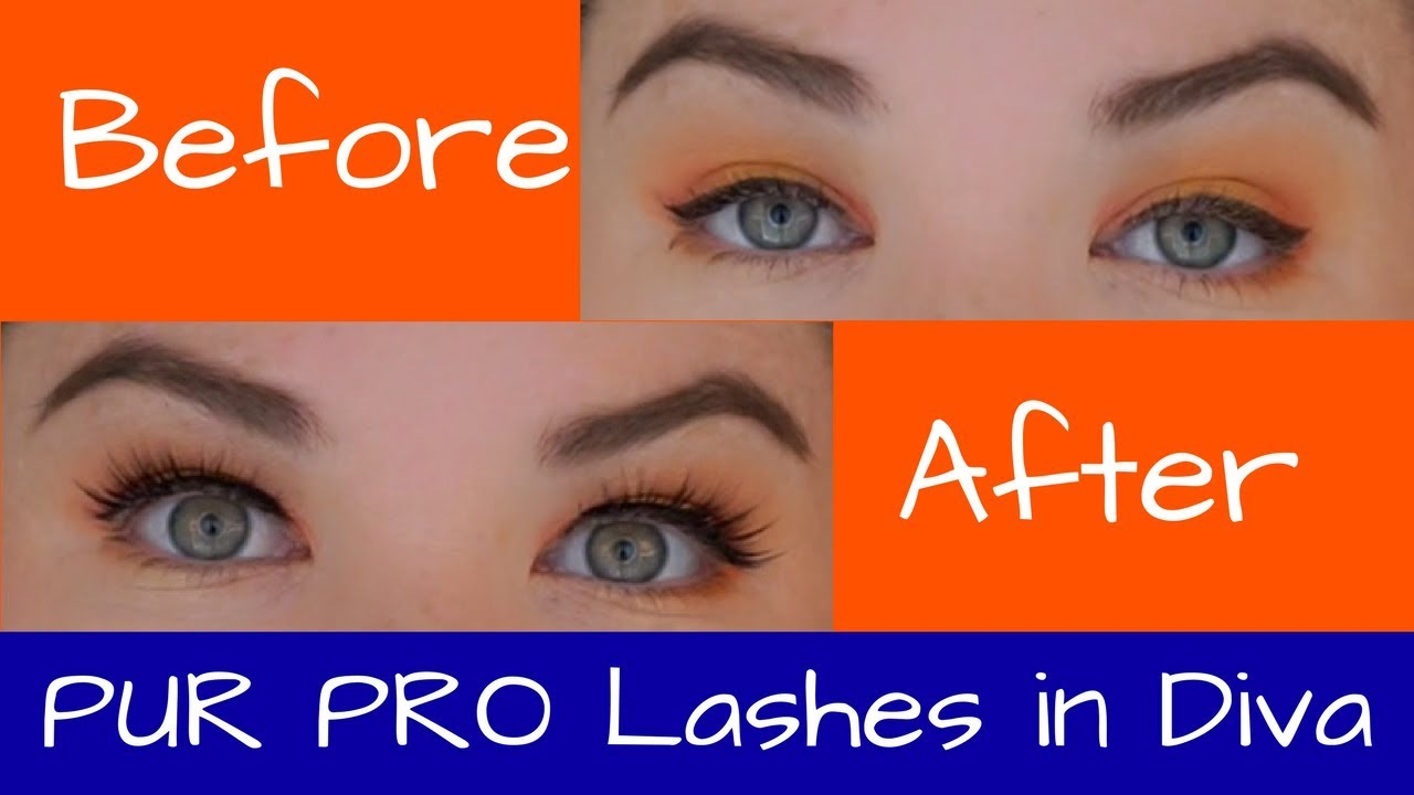 ef1ad84b0 PUR PRO Lashes in Diva Review - YouTube