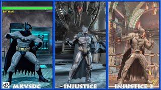 DC Universe MKVSDC Injustice BATMAN Graphic Evolution 2008-2017 | XBOX360 PS4 |