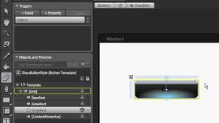 How to create a Glass Button in WPF