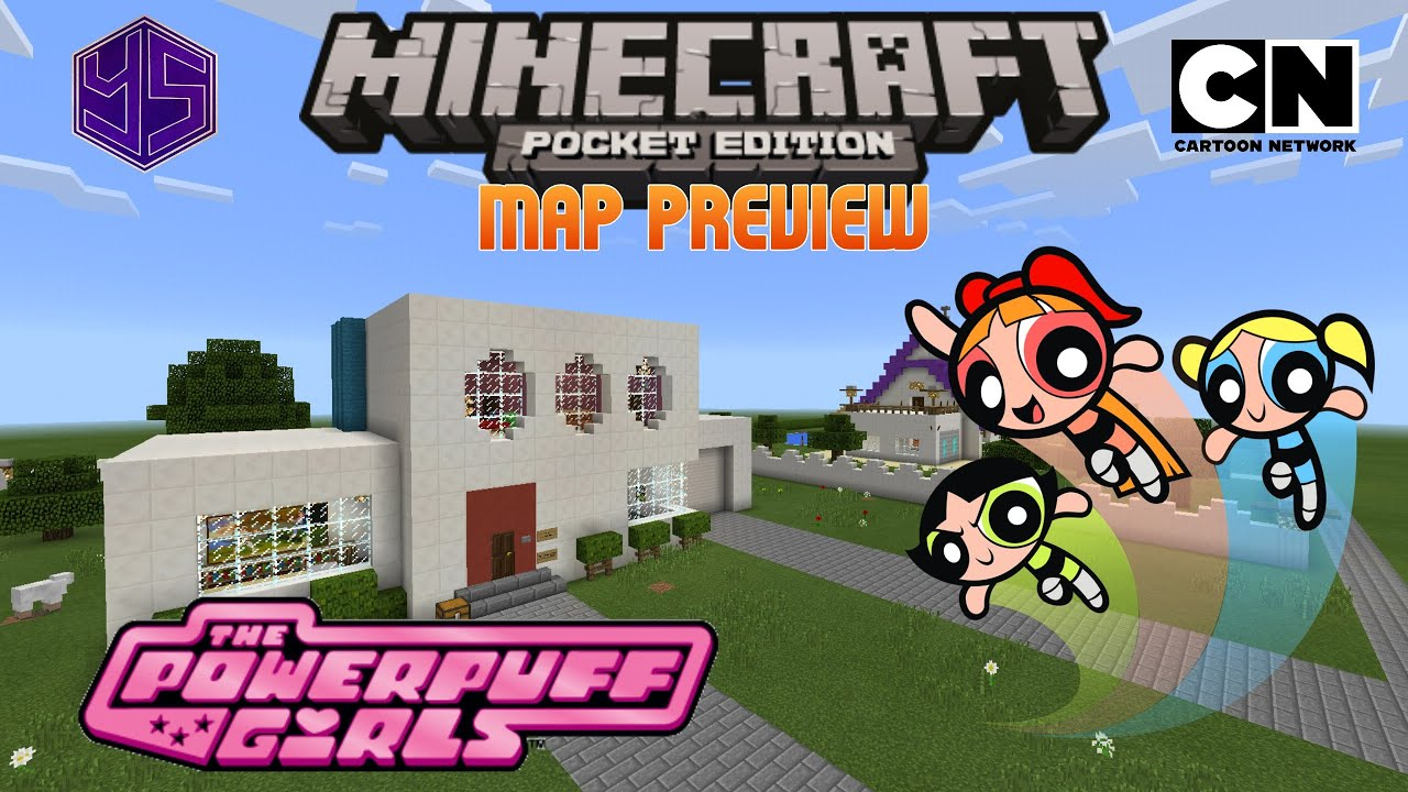 Minecraft Pe Map The Powerpuff Girls House - Youtube-1495