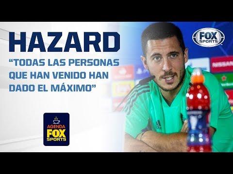 Hazard no se considera galáctico... Zidane pide paciencia con el belga