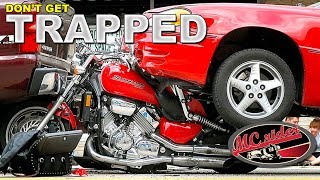 Motorcycle skills to avoid being rear-ended - Don