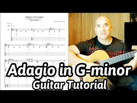 Adagio in G-minor | Tomaso Albinoni & Remo Giazotto | Classical Guitar Lesson | NBN Guitar