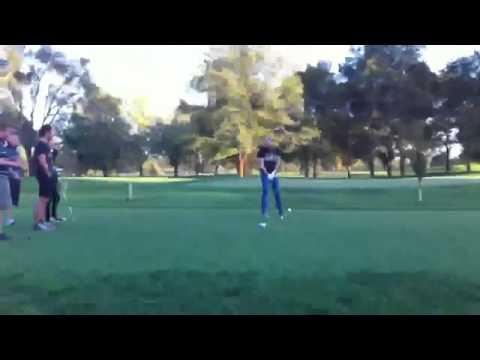 chris wolstenholme playing golf while Matt bellamy SECRETLY laughs at him!!