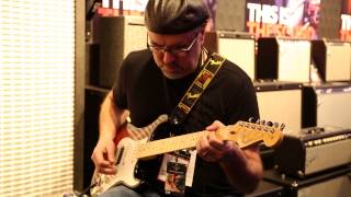 NAMM 2015  •  Michael Landau Fender Hot Rod Deville