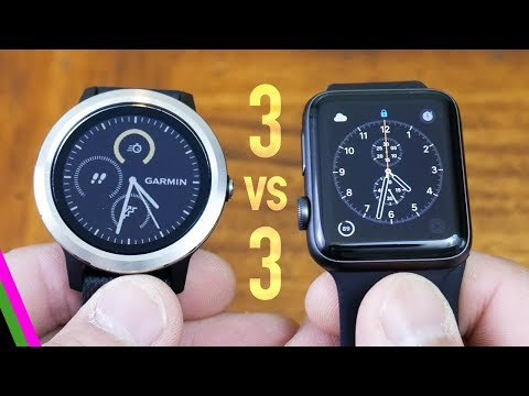 VivoActive 3 vs Apple Watch 3 - Best GPS Activity Tracker 2017