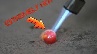 Extreme Hot Metal Ball ..Melted Everything