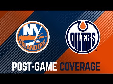 ARCHIVE | Post-Game Coverage – Oilers vs. Islanders