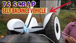 Restoration 7$ Scrap Self Balance Vehicle