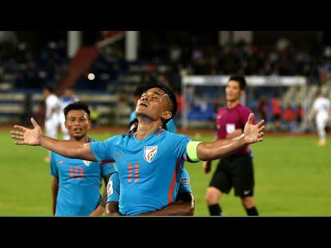 Sunil Chhetri Goal Against kyrgyz Republic.