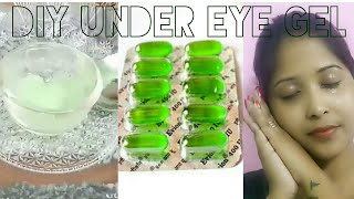 DIY under eye gel / Dark circles, wrinkles removal, powerfull homem...