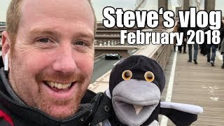 Steve and Maggie in New York | Steve and Maggie's vlog | February 2018