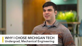 My Michigan Tech: Tyler Strauss (ME)