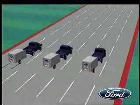 2009 Ford F-150: Trailer Sway Control animation