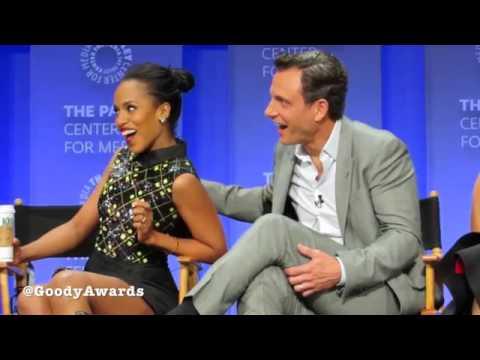 Kerry Washington and Tony Goldwyn talk Scandal Chemistry