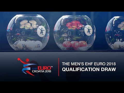 Men's EHF EURO 2018 Qualification Draw